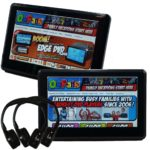 Autotain EDGE Active Headrest DVD Player