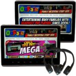 Autotain MEGA Active Headrest DVD Player