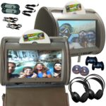 Autotain HERO Headrest DVD Players